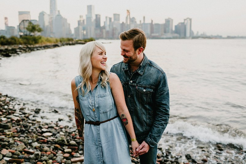 Hipster_Tattoo_Engagement_Session_NJ_Sunset
