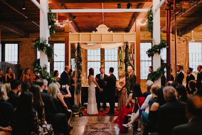 metropolitan building winter wedding ny