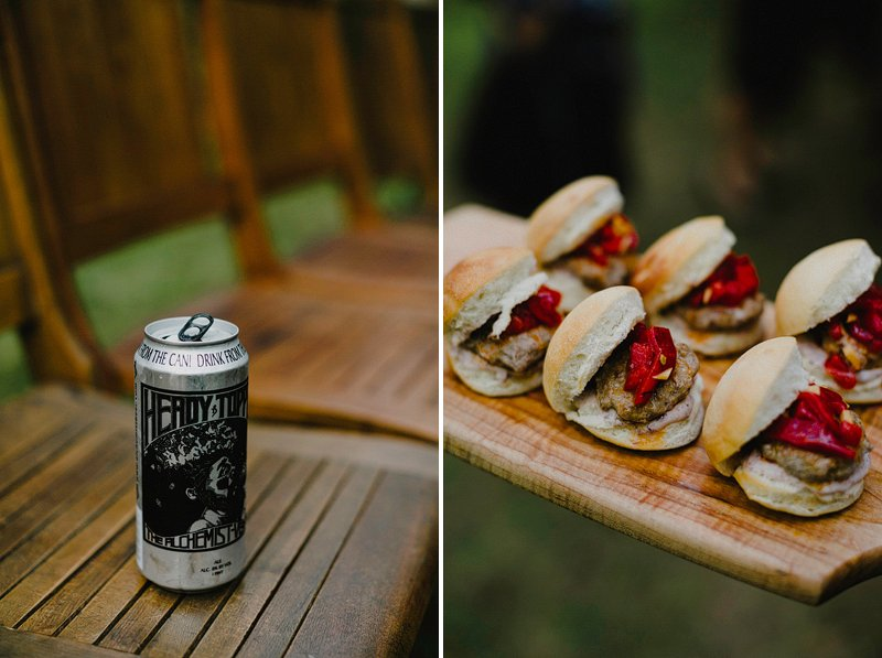 heady topper beer wedding