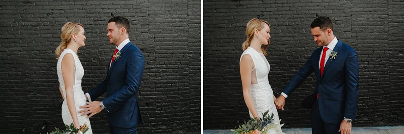 brooklyn rooftop elopement wythe hipster
