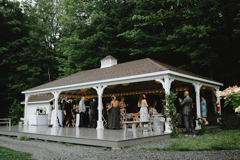 the roxbury barn catskills wedding