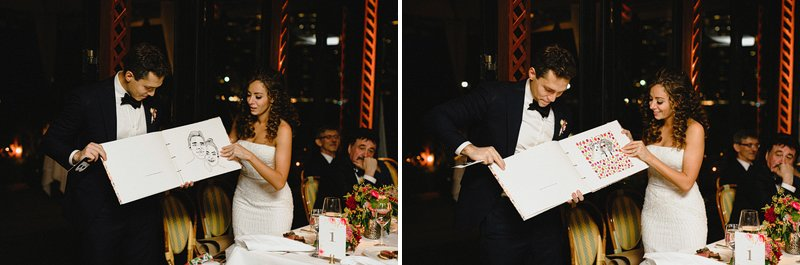 river cafe chic brooklyn wedding
