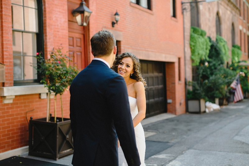 chic river cafe wedding brooklyn