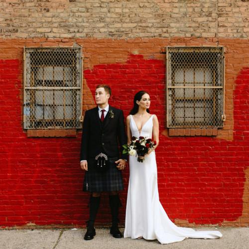 boho greenpoint loft wedding brooklyn