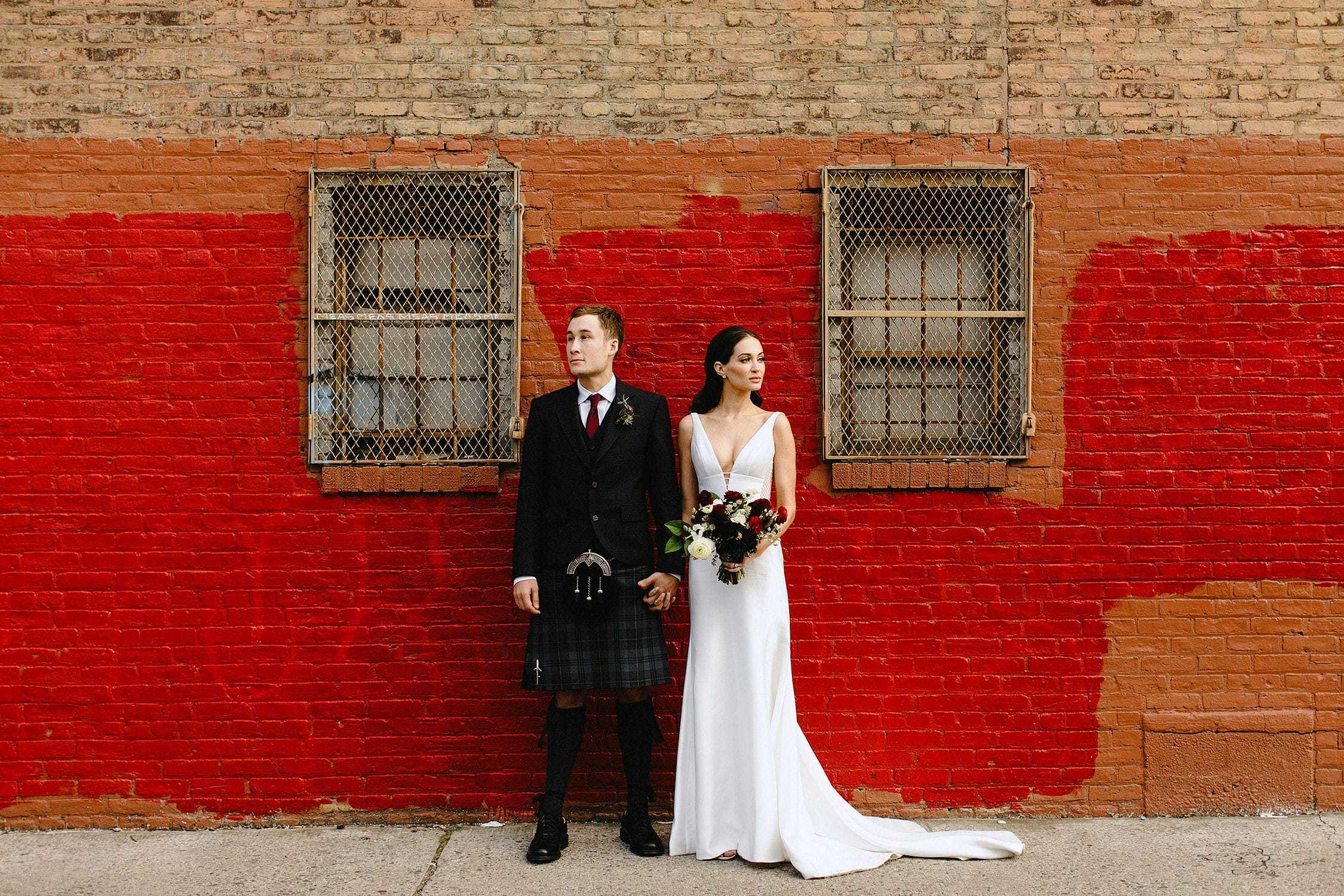 boho greenpoint loft wedding brooklyn
