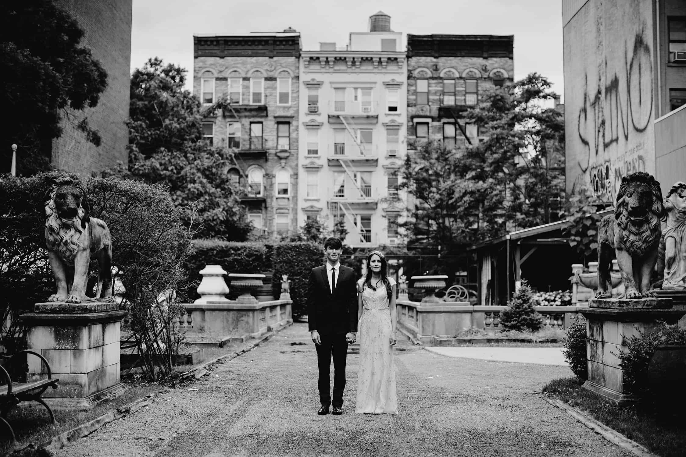 elizabeth street garden nyc wedding