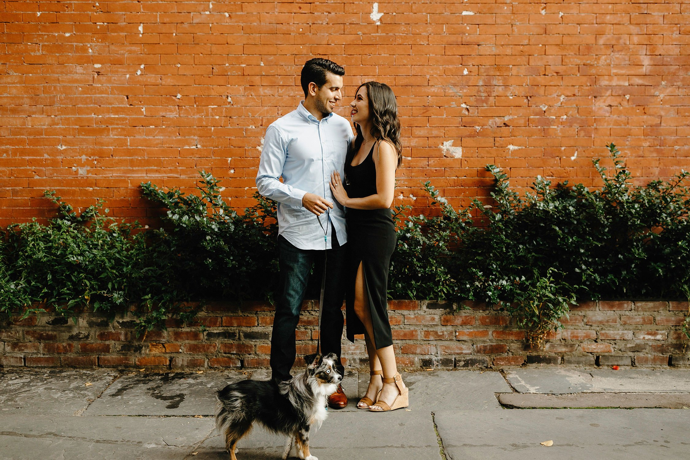 west village nyc engagement session