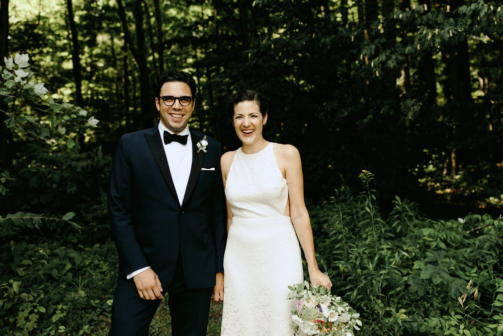 phoenicia ny summer wedding hipster