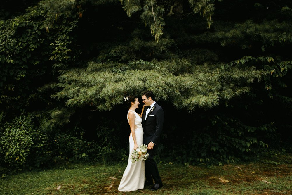 bohemian summer wedding upstate ny farm