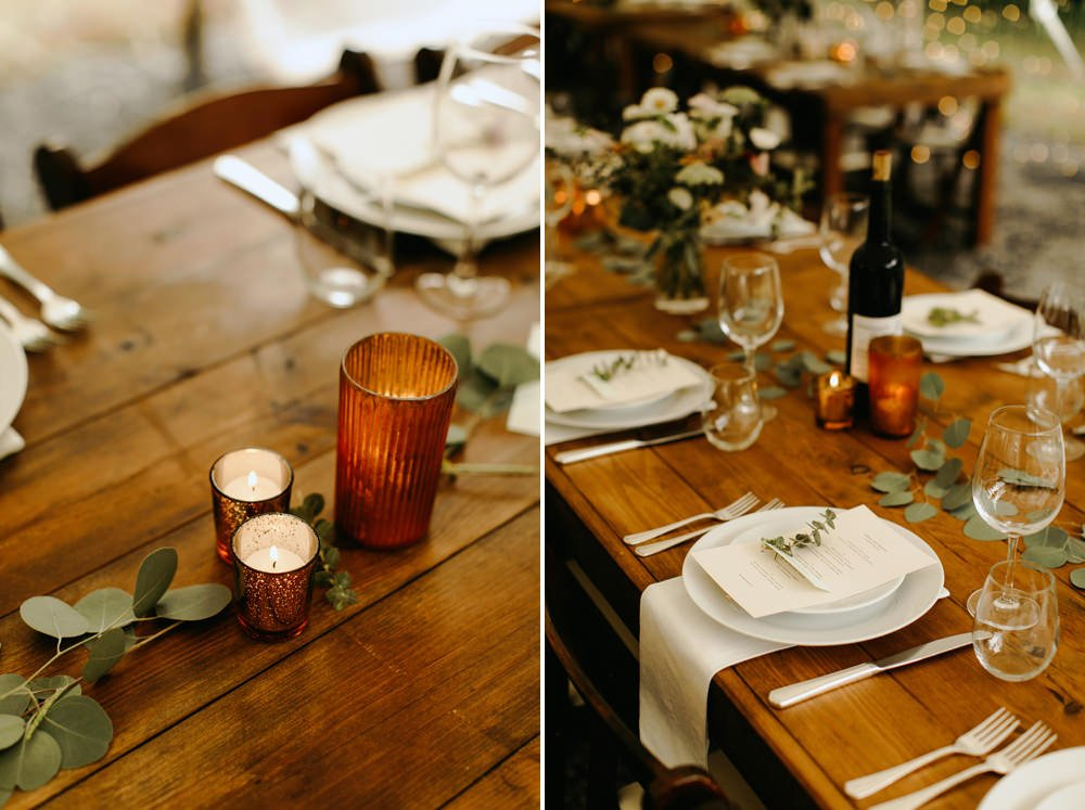 foxfire mountain house hipster wedding