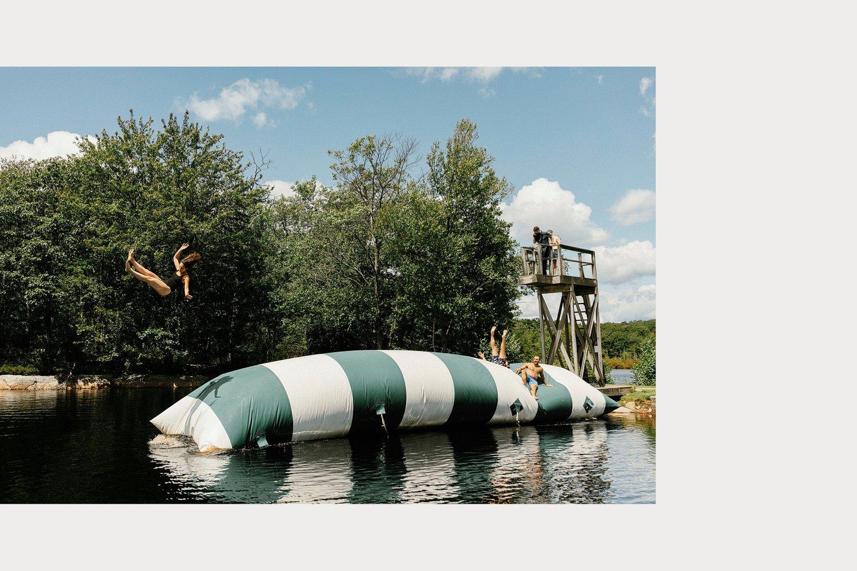 cedar lakes estate summer wedding blob