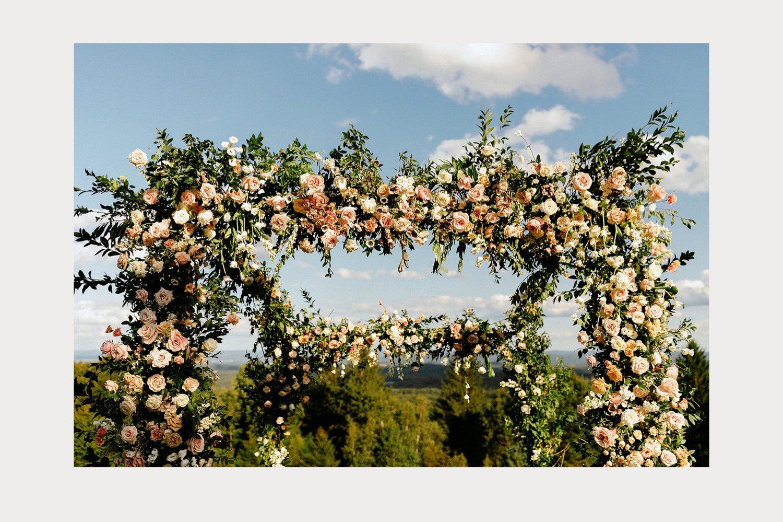 floral chuppah inspiration