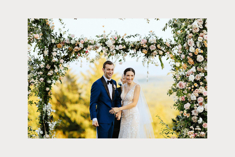 jewish outdoor cedar lakes estate wedding ceremony