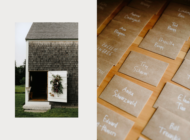 rustic new england barn wedding