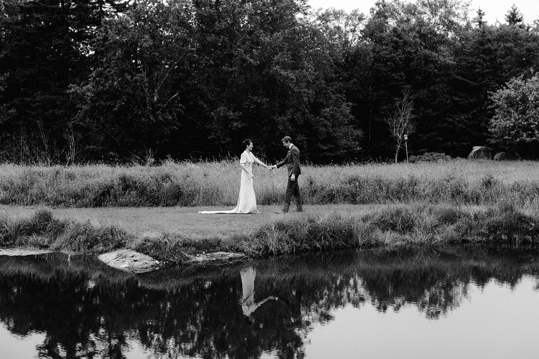nautical maine summer wedding