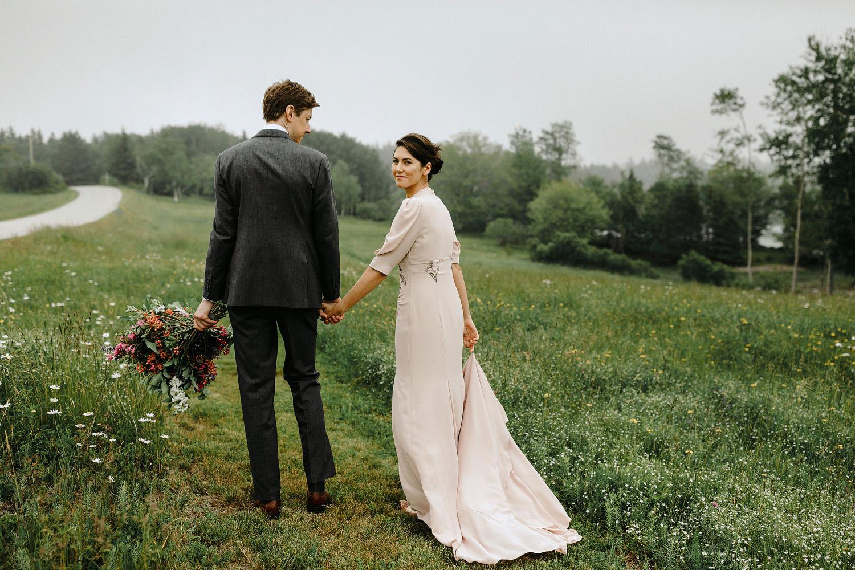 sophisticated maine wedding