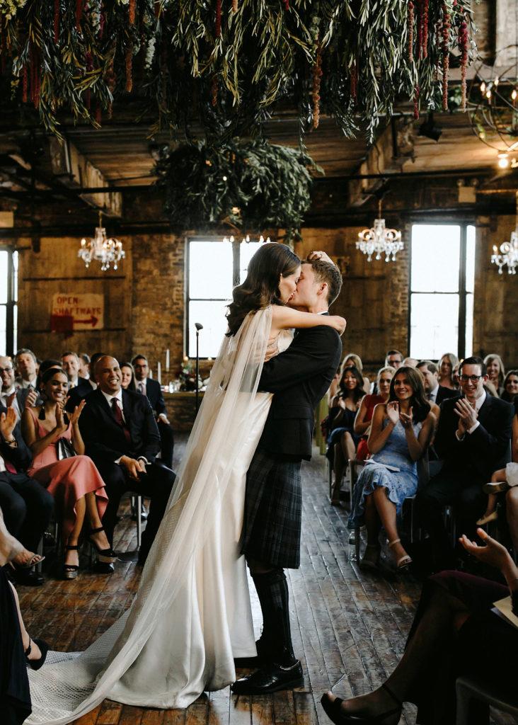greenpoint loft wedding feature
